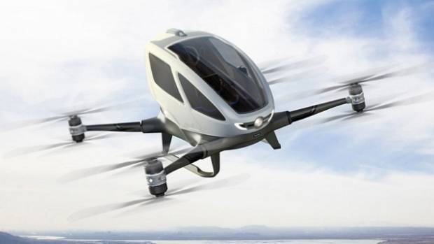 The craft can carry a passenger weighing up to 100kg and will begin regular operations in July.