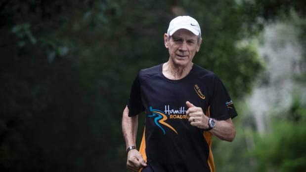 Hamilton 70-year-old Rod Gill is about to complete his goal of 52 half marathons in 52 weeks.