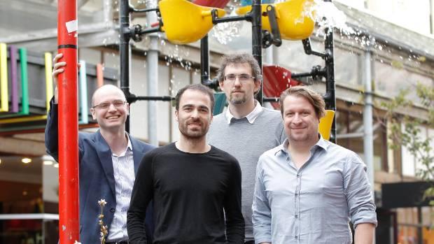 8i founders Joshua Feast, left, Linc Gasking, Eugene d'Eon and Sebastian Marino.