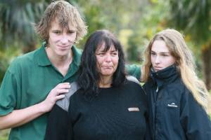 The grieving family of a man shot dead by police in the Karangahake Gorge near Paeroa.