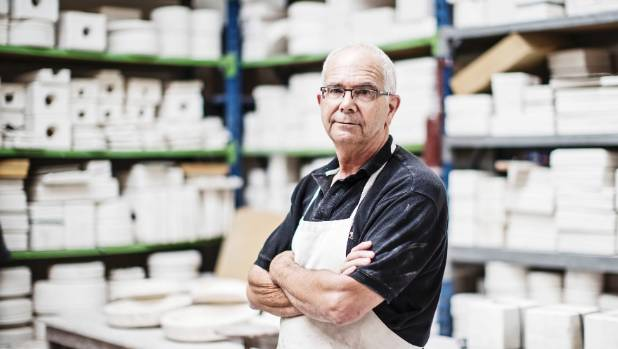 'Making things is what I do,' says potter Bob Steiner.