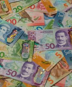 A Hawera man owes close to $16,000 after he failed to cough up for weeks long hotel stays and an Indian meal.
