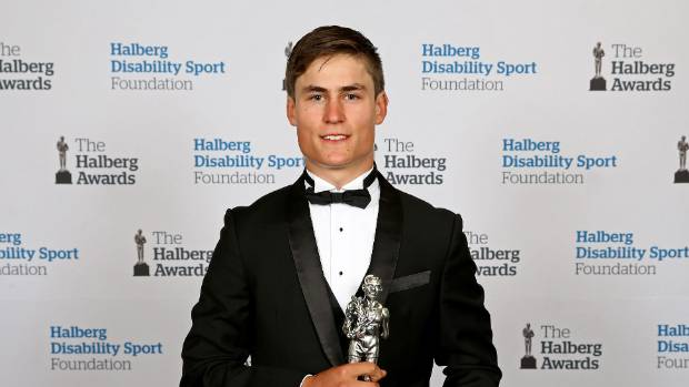 Campbell Stewart, at the Halbergs.