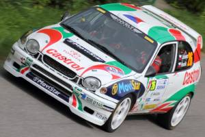 Coolest Corolla ever? Certainly the least available. Toyota's hatch hit the WRC stage in 1997.