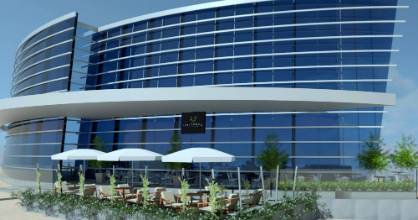 An artist's impression of how Universo Brasserie and Bar will look at the Christchurch Art Gallery.