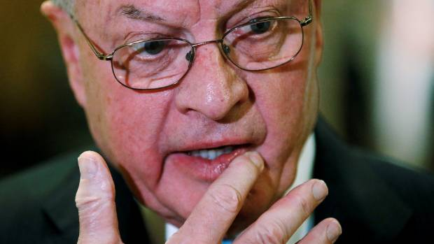 FILE PHOTO: Retired Lieutenant General Keith Kellogg speaks to the media in the lobby of Donald Trump's Trump Tower in ...
