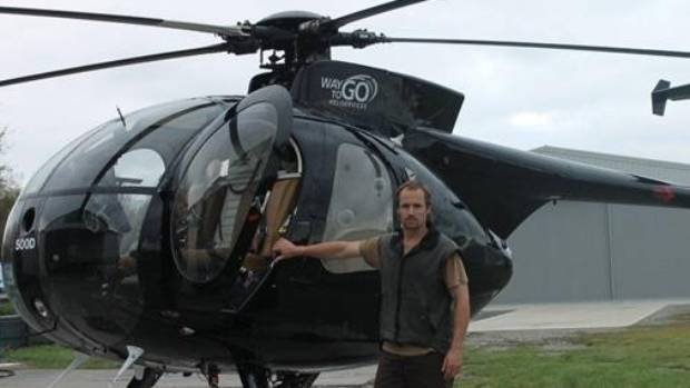 David Askin, also known as Steve, was flying a firefighting mission in Christchurch when his helicopter crashed.