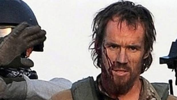 David Steven Askin pictured after firefight with the Taliban in Afghanistan in 2011, while with the NZ SAS.