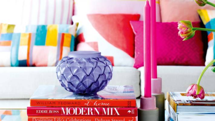 Beginner's guide to using bold colours and mixing prints