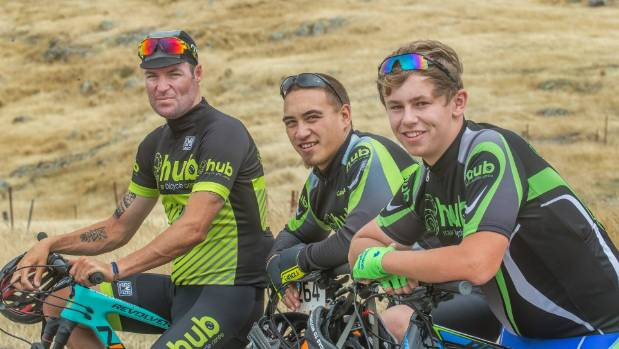 Reformed criminal Reon Nolan, left, is mentoring Chance Hurinui and Connor Phillips (right), to help get their lives ...