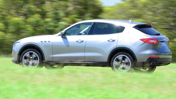 Just one engine for Kiwi-spec Levante, a V6 turbo-diesel. Maserati doesn't offer the petrol in right-and-drive.
