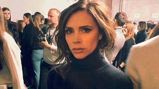Victoria Beckham is reportedly suing a takeaway that is comparing her to its thin-crust pizza.