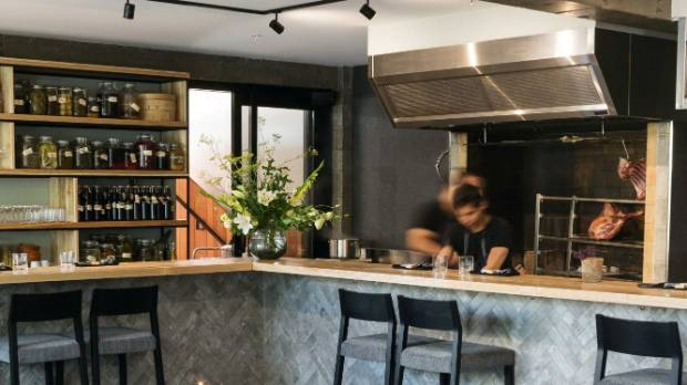 Pasture is an intimate location, where chefs serve and explain dishes and patrons can watch as they cook.