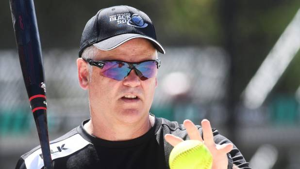 Black Sox coach Mark Sorenson has won the New Zealand Softballer of the Year award.