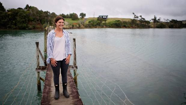 Sophie Peacocke's family are developing a peninsula in Raglan on the Whaingaroa Harbour.