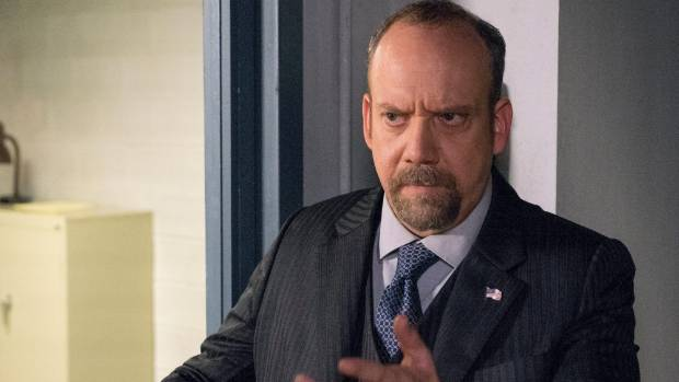Paul Giamatti as Chuck Rhoades, a character loosely based on former New York mayor Rudy Giuliani.