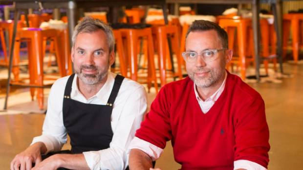 Shepherd Elliott and Sean Golding are providing something different to Wellington diners.