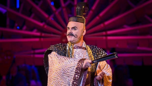 James Clayton sings the Mikado - otherwise known as the emperor of Japan - in this contemporary Gilbert and Sullivan ...