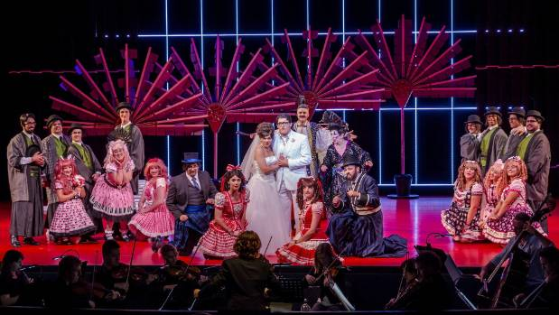 The Mikado opened on Tuesday night at the ASB Waterfront Theatre, and is headed for both Wellington and Christchurch.