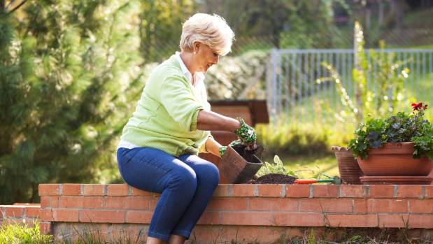 To 'future-proof' your garden, consider raised beds. They're easier to reach if your mobility is compromised.