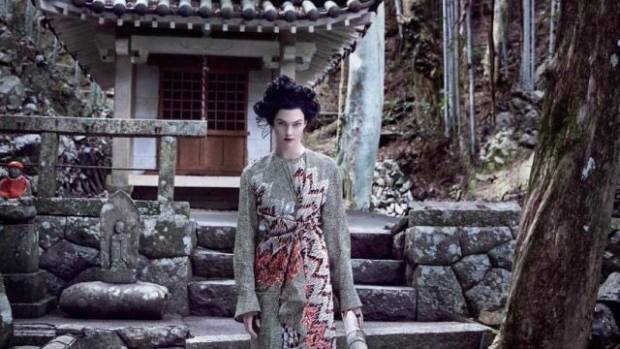 Vogue dressed Karlie Kloss up as a Geisha for its Diversity issue