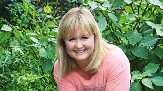 Gardening guru, Lynda Hallinan.
