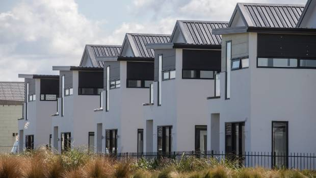 These homes, pictured in 2015, were built and sold in the Wigram Skies subdivision.