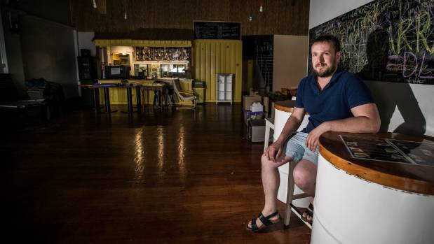 The lights have gone out at Kirill Polishchuk's Bubble Waffle cafe in New Plymouth.