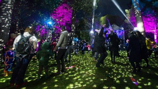 Night of D'Light: As a post-quake refuge, special events at the gardens have become even more popular.
