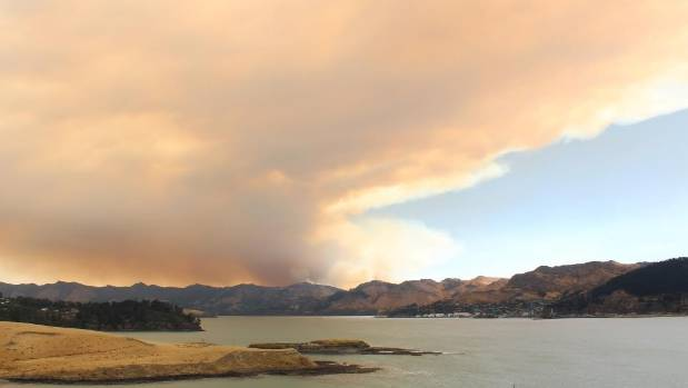A picture taken from Hays Bay just past Diamond Harbour at 4:45pm Wednesday.