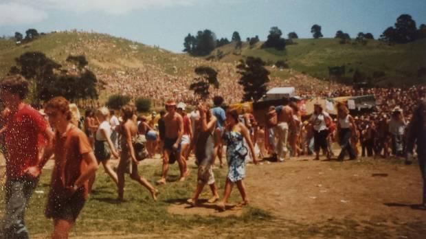 Sweetwaters Festival in 1980.