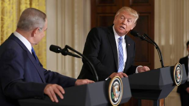 US President Donald Trump made his comments about Michael Flynn during a news conference with Israeli Prime Minister ...