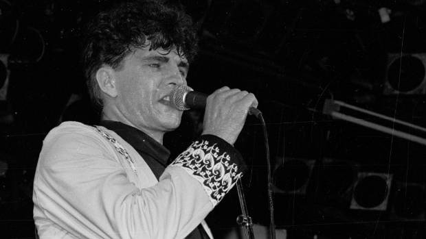 Tim Finn at Sweetwaters in 1981.