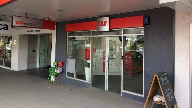 However, Westpac's  branch on Molesworth Street reopened about three weeks ago.