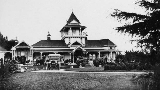 Greenhill lodge in the early 1900s.