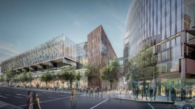 Auckland's Sky City International Convention Centre is understood to be one of the projects responsible for the downgrade.