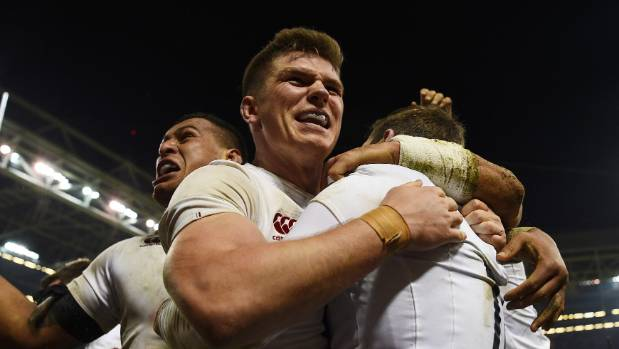 Owen Farrell's (centre) stocks have risen after a dominant display for England in beating Wales.