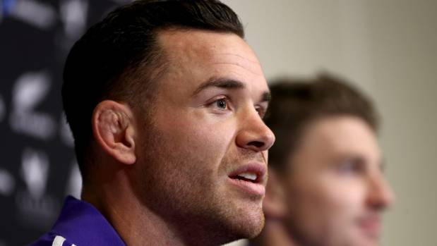 Crotty speaks during a press conference in November2016.