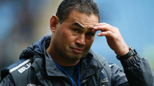 Crotty said he wasn't aware of a potential deal with Bristol, which is coached by Pat Lam (pictured).