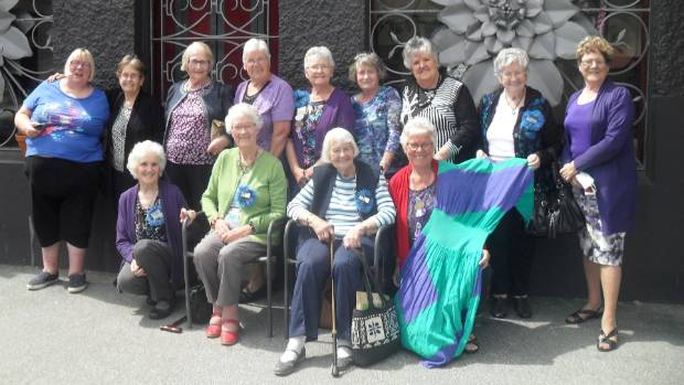 Members of the Otago/Southland Shirley Club met in Roxburgh on Wednesday. At back from left are Shirley Cranstoun, ...