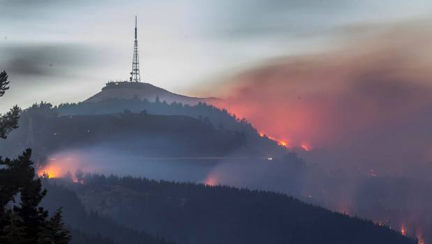 If the fire had got to the transmission tower, Christchurch could have lost TV channels for up to 48 hours.