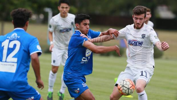 Ignacio Machuca and Hamilton Wanderers came off second best on Wednesday against Auckland City.