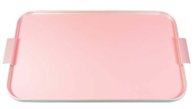 Kaymet tray in rose pink $189 from Alex Fulton Design, afdstore.co.nz