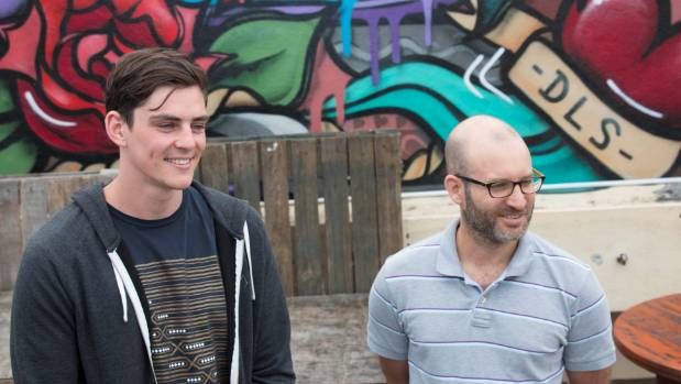 Investful co-founders Andrew Montague, left, and Carl Douglas left the NZX to start their fintech business.