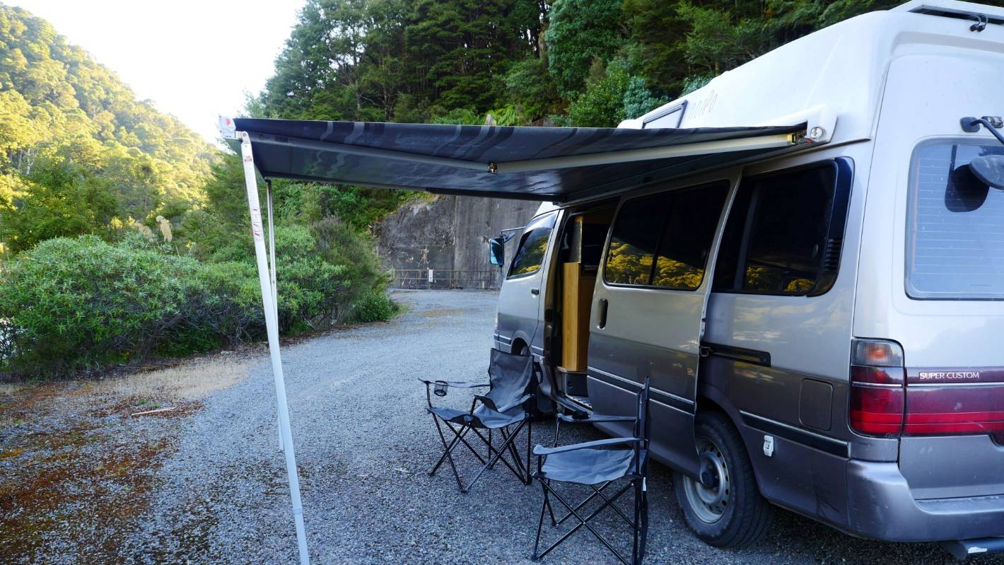 An undercover freedom camper: My eight days on the road | Stuff co nz