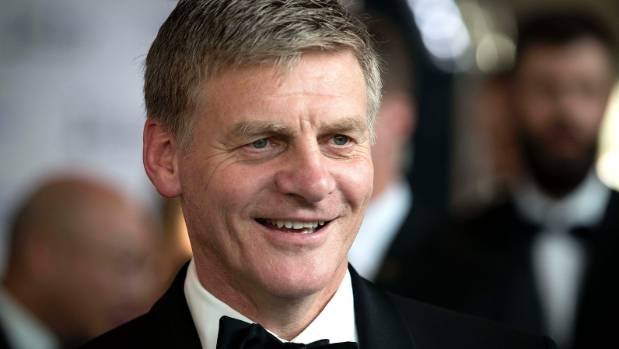 Bill English - finding his feet as an international statesman