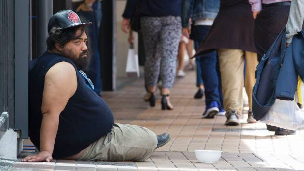 Begging is becoming strategic and organised in Wellington, and could be hurting those genuinely in need.