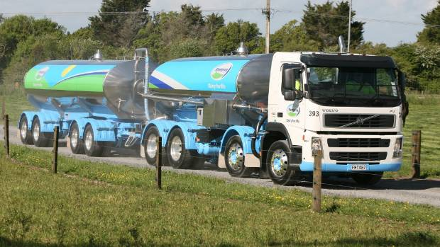 Fonterra's milk collection has dropped 5 per cent nationwide from June 1, 2016 to January 31, 2017.