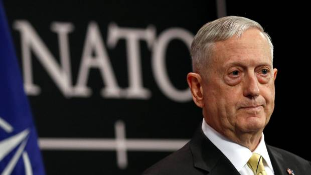 "US Defence Secretary Jim Mattis: ""We are not in a position right now to collaborate on a military level. But our ..."