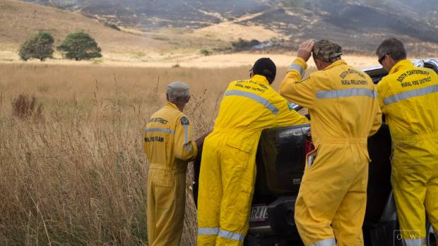 Firefighters are hopeful the weather will help battle the Port Hills blazes.